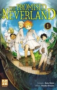 Kaiu Shirai et Posuka Demizu - The Promised Neverland Tome 1 :  - Edition limitée Jaquette réversible.