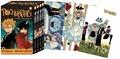 Naoya Matsumoto - Pochi & Kuro Intégrale tomes 1 à  : Pack en 4 volumes - Avec 3 cartes postales.
