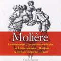 Molière - Molière : ses plus grandes pièces - 6 pièces de théâtre. 1 CD audio MP3