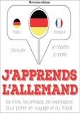 La Compagnie du savoir - J'apprends l'allemand. 1 CD audio MP3