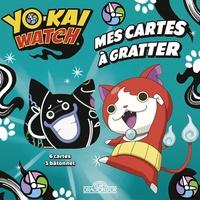 Alexandre Debrot - Mes cartes à gratter Yo-kai Watch - Avec 1 bâtonnet.