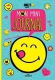 SmileyWorld - Mon mini-journal (bleu) - Avec des stickers.