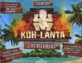 Dragon d'or - Escape Box Koh-Lanta, L'île des oubliés - Coffret avec 1 livret de 32 pages, 40 cartes, 1 bande-son et 1 poster.