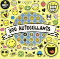 SmileyWorld - 300 autocollants 100% Smiley.