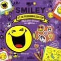 SmileyWorld - Kit de personnalisation Smiley - Tout pour décorer tes affaires !.