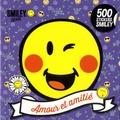 SmileyWorld - Amour et amitié - 500 stickers Smiley.