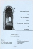 Michelle Augier et Paul Bancourt - Morale pratique et vie quotidienne dans la littérature française du Moyen Âge.