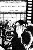 Jean-Pierre Martinet - Ceux qui n'en mènent pas large ; Au fond de la cour à droite.