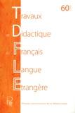 Henri Boyer - Travaux de didactique du français langue étrangère N° 60/2008 : Varia.