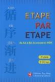 Leilei Li et Jian Feng - Etape par étape - De A2 à B2 du nouveau HSK. 1 CD audio