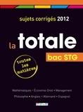 Rue des écoles - La totale Bac STG - Sujets corrigés.