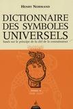 Henry Normand - Dictionnaire des symboles universels basés sur le principe de la clef de la connaissance - Tome 2, Char-Elément.