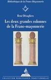 """René Desaguliers - Les deux grandes colonnes de la franc-maçonnerie - """"Les colonnes du Temple de Salomon, Les mots sacrés des deux premiers grades""""."""