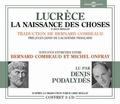 Lucrèce - La naissance des choses. 3 CD audio