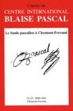 Collectif - Courrier du Centre international Blaise Pascal N° 22-23, 2000-2001 : .