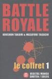 Koushun Takami et Masayuki Taguchi - Battle Royale Coffret 5 volumes : Tomes 1 à 5.