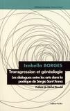 Izabella Borges - Transgression et généalogie - Les dialogues entre les arts dans la poétique de Sérgio Sant'Anna.