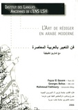 ENS Lyon - L'art de rédiger en arabe moderne.