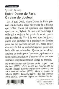 Notre-Dame de Paris. Ô reine de douleur Edition en gros caractères