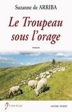 Suzanne de Arriba - Le troupeau sous l'orage.