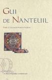 Gui de Nanteuil - Tome 2, Les manuscrits italiens.
