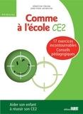 Jean-Yvon Lafinestre et Sébastien Férigal - Comme à l'école CE2.