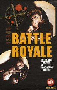 Koushun Takami et Masayuki Taguchi - Battle Royale Tome 1 à 5 : Coffret en 5 volumes.