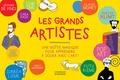 Chiara Savino - Les grands artistes - Une boîte magique pour apprendre à jouer avec l'art ! Contient : 10 dépliants cartonnés de 8 pages, 2 feuillets d'autocollants, 2 feuillets transparents.