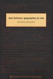 Christine Jérusalem - Jean Echenoz : géographies du vide.