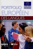 """Conseil de l'Europe - Portfolio européen des langues - Avec un livret """"Passeport de langues""""."""