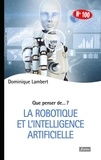 Dominique Lambert - L'intelligence artificielle.