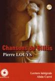 Pierre Louÿs - Chansons de Bilitis. 1 CD audio