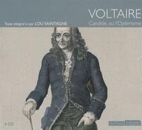 Voltaire - Candide ou l'optimisme. 4 CD audio