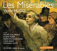 Victor Hugo - Les Misérables. 10 CD audio MP3