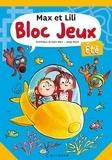 Dominique de Saint Mars et Serge Bloch - Bloc Jeux Max et Lili été.