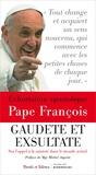 Pape François - Exhortation apostoloque sur la sainteté - Gaudete et exsultate.