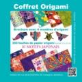 Francesco Decio et Vanda Battaglia - Coffret origami bleu - 4 modèles avec guide d'instructions, 200 feuilles de papier origami, 10 motifs japonais.