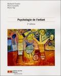 Richard Cloutier et Pierre Gosselin - Psychologie de l'enfant.