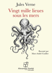 Jules Verne - Vingt mille lieues sous les mers. 1 CD audio MP3