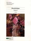 Bruno Scherrer - Biostatistique - Volume 2.