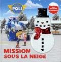 Marine Guion et  Roi Visual - Robocar Poli  : Mission sous la neige - Avec des paillettes réversibles !.