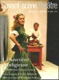 Federico Garcia Lorca et André Belamich - L'Avant-scène théâtre N° 1184, 1er Juin 20 : La Savetière prodigieuse.