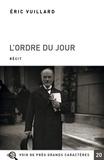 Eric Vuillard - L'ordre du jour.