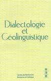 Jean Le Dû - La Bretagne linguistique N° 13, Numéro spécia : Dialectologie et Géolinguistique.