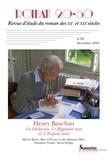 Laurent Déom et Jérémy Lambert - Roman 20-50 N° 62, décembre 2016 : Henry Bauchau - La déchirure, Le régiment noir et L'enfant rieur.