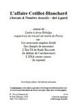 Paul Melchior et  Collectif - L'affaire Cotillot-Blanchard - Avocats & Notaires Associés (tiré à part).