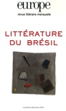 Michel Riaudel et Pierre Rivas - Europe N° 919-920, Novembre : Littérature du Brésil.