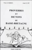 Yves Le Berre et Jean Le Dû - Proverbes et dictons de Basse-Bretagne.