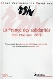 Djemaa Maazouzi et Nelly Wolf - Revue des Sciences Humaines N° 320, 4/2015 : La France des solidarités (mai 1968-mai 1981) - Littérature, cinéma, discours.