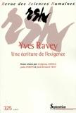 Wolfgang Asholt et Jutta Fortin - Revue des Sciences Humaines N° 325, 1/2017 : Yves Ravey, une écriture de l'exigence.